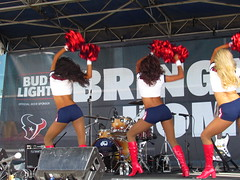 IMG_4978 (grooverman) Tags: houston texans cheerleaders nfl football game budweiser plaza nrg stadium texas 2016 nice sexy legs stomach boots canon powershot sx530