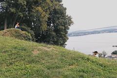 Pusiano Lake (J. Elvis) Tags: pusiano italy lake landscape summer mountain holidays water blue sky green trees relax pictures place pacefully vsco vscoitaly lago italia nikon d3100 nature natura