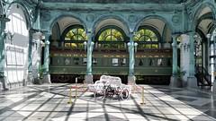 The Flagler Kenan Pavilion (Terry Hassan) Tags: usa florida miami palmbeach flaglermuseum whitehall mansion museum flagler kenan pavilion train railcar exhibit display