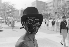 (patrickjoust) Tags: street city urban bw usa white black slr film home hat analog america 35mm lens us reflex md focus downtown mask mechanical asahi pentax takumar kodak top united trix north patrick maryland baltimore 150 f single 400 m42 spotmatic otakon f2 universal states manual rodinal joust 35 smc developed premium develop estados screwmount unidos arista rebranded autaut rebadged patrickjoust