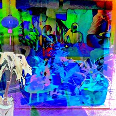 Their Dinner For Two #1 (aeleazer1(Busy,Off/On)!!!) Tags: camera blue light sky orange white black color green art colors yellow mobile upload puddle blog dc washington interestingness interesting day random air picture explore 99 dcist daytime splash vote tagging catchy soe api washdc facebook hypothetical iphone ipad givemefive metroarea vividimagination twitter colorpicture artdigital kartpostal shockofthenew infinitescroll iphone4 cmwd iphonecamera iphonepicture flickriver iphonography iphoneart awardtree struckbyrainbow trolledproud abokehoflight ipadography aeleazer1 ipadology aeleazer andreeleazer netartii