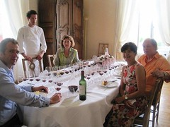 Chateau Haut Bailly lunch with Veronique Sanders,