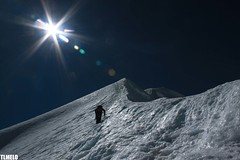 """Frozenway to Heaven"" - Pequeo Alpamayo Mount - Condoriri Massif - Bolvia (TLMELO) Tags: sky mountain snow ice gelo southamerica nature clouds trekking walking landscape climb little hiking walk natureza paisagem hike cu glacier mount climbing backpacking backpack neve summit andes climber heavy glaciar caminhada justdoit montanha altiplano mountaineer bolvia trilha pequeno amricadosul cume alpamayo impossibleisnothing condoriri keepwalking pequeoalpamayo"