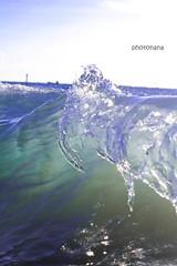 an Art of the Earth 1 (setagayamama) Tags: ocean blue sea summer beach wave clear emerald clearwater closeupwave