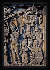 indonesia borobudur (Albert Photo) Tags: sunset sculpture heritage history monument indonesia temple lights java asia stupa buddhist tourist carving carve yogyakarta borobudur engrave traveler historicalsites mahayana historicallegacy