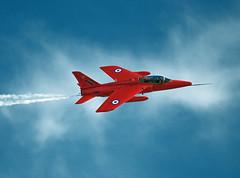 Beautiful Gnat.. (mickb6265) Tags: jet duxford trainer redarrows lightweight follandgnat xs111 gnatdisplayteam duxfordairshow2012