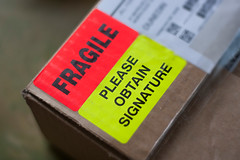 Fragile 235/365 (*Jilltoo) Tags: newzealand warning mail box label nz getty labels carton 365 parcel courier package fragile project365