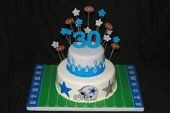 "Dallas cowboys cake • <a style=""font-size:0.8em;"" href=""http://www.flickr.com/photos/60584691@N02/7977137712/"" target=""_blank"">View on Flickr</a>"