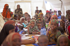 Dollo Ado, a Year After the Somalia Famine (UNHCR) Tags: africa school camp children education classroom refugees hijab ethiopia partnership photoset unhcr hornofafrica photooftheday refugeecamp somalirefugees unrefugeeagency unitednationsrefugeeagency eastandhornofafrica doloado kobecamp somalirefugeesindoloado
