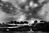 Fort Mackinac Vari-ND Test (MichellePhotos2) Tags: longexposure bw statue clouds island dawn nikon fort michigan mackinacisland mackinac marquettepark fathermarquettestatue mackinacislandstatepark singhrayvarind d800e nikond800e