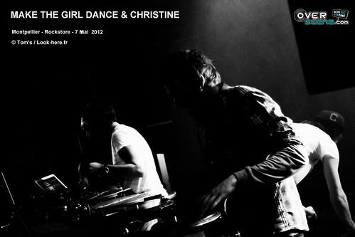 MAKE THE GIRL DANCE & CHRISTINE @ Rockstore - Montpellier - 2LOGO