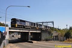 Main West meets Great Western (highplains68) Tags: granville sydney australia newsouthwales aus coaltrain pacificnational sydneu ca62 82class