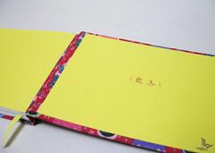 caderno de sesenho - matrioskas (Rogério Marçal) Tags: artesanal vermelho caderno estampas matrioskas encadernação
