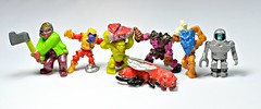 Mighty Max monster figures 02 (LittleWeirdos) Tags: monster monsters creatures creature minifigure minifigures plasticfigures monstertoy mightymax plasticmonsters monstertoys bluebirdtoys monsterfigures