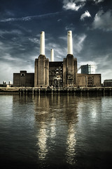 The Iconic Battersea Power Station (violinconcertono3) Tags: london heritage station thames river landscapes flickr industrial power fineart cityscapes pinkfloyd historic powerstation fineartphotography davidhenderson fineartphotographer londonphotographer 19sixty3 19sixty3com iconicbattersea