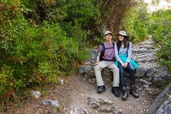 Nietzsche's Path (Gin-Lung Cheng) Tags: activity asian chinese city côtedazur europe eze family france hiking location man nice nietzschepath people travel woman èze provencealpescôtedazur