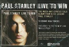 December 2006 Classic Rock Magazine (Kiss) (NYCDreamin) Tags: kiss paulstanley december2006 livetowin classicrockmagazine