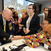 UK Foreign Secretary William Hague welcomes Nobel Peace Laureate Leymah Gbowee at the high-level event \