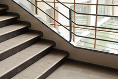 turku - turun sanomat building 5 (Doctor Casino) Tags: architecture stairs newspaper turku interior headquarters stairwell stairway architect hq offices bldg alvaraalto treads 19281930