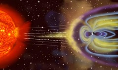 Sparkling Geomagnetic Field