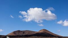 Vulcano and clouds (Victor van Dijk (Thanks for 7M views!)) Tags: lanzarote spain espana spanje vulcano landscape vulkaan cloud wolk wolken bewolkt cloudy victormk1 wwwvictorvandijkcom canon