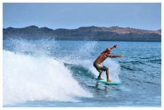 Surfer C 2 (richnew7) Tags: ocean holiday spain shot action surfer fuerteventura wave surfing atlantic tanned corralejo