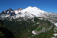 Mt Baker from the Lookout (Sotosoroto) Tags: volcano washington hiking mtbaker dayhike parkbutte