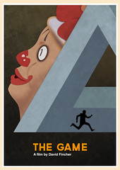 The Game (1997) (Jon Glanville) Tags: clown filmposter crs thegame seanpenn davidfincher michaeldouglas minimalistfilmposter nickvanorton consumerrecreationservices