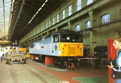 Doncaster Works Open Day, 12th July 1992 (elkemasa) Tags: 1992 shunter class47 class31 class08 class56 doncasterworks