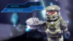Halo 4 - Weapons Showcase Preview #2 (MGF Customs/Reviews) Tags: lego infinity chief 4 halo master requiem cortana unsc promethean brickarms