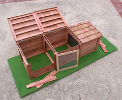 "3-Bin Compost Bin - model • <a style=""font-size:0.8em;"" href=""https://www.flickr.com/photos/87478652@N08/8072761237/"" target=""_blank"">View on Flickr</a>"