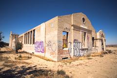Abandoned Church (Shutter Theory) Tags: california abandoned church desert highdesert lancaster antelopevalley mojavedesert californiadesert elmirage bando abandonedcalifornia