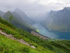 Mt. Saksa 1073m (Mrs.Snowman) Tags: saksa mountain hike urke hjørundfjord norway