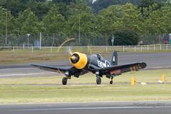 Vought F4U Corsair-3 (Clubber_Lang) Tags: airshow corsair farnborough f4u vought fia2016