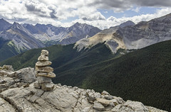 High Up (muradjafari) Tags: mountains rocks forests sky clouds outdoors rockies hike rugged