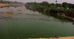 INDIEN , unterwegs nach Varanasi, am Fluss, 14270/7138 (roba66) Tags: fluss river indien indiennord asien asia india inde northernindia urlaub reisen travel explore voyages visit tourism roba66 landschaft landscape paisaje