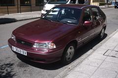 Daewoo Nexia (Jusotil_1943) Tags: coches autos redcars cars