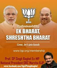 Ek Bharat-Shreshtha Bharat (spsinghbaghel) Tags: bjp uttar pradesh up election 2017 leaders vote for join sp singh baghel firozabad recent news