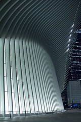 Oculus World Trade Center New York City (Anthony Quintano) Tags: oculus nyc newyorkcity oneworldtrade wtc subway trainstation lowermanhattan manhattan iphone applestore architecture
