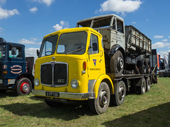 AEC's at South Cerney (Ben Matthews1992) Tags: southcerney 2016 gloucestershire steam vintage extravaganza rally show airfield classic commercial lorry truck wagon waggon old historic preserved preservation 1961 aec mamoth major xyp136 kj5723 beavertail