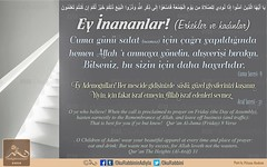 Hayrl Cuma'lar... (Oku Rabbinin Adiyla) Tags: allah kuran islam ayet ayetler verse god religion bible muslim jesus prophet pray namaz salat ibadet mescit mosque rahman holyquran cuma friday stairs stair