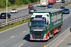 Eddie Stobart 'Erin Beth' (stavioni) Tags: eddie stobart truck trailer lorry esl m4 reading volvo fh fh4 erin beth h4581 kx16fjv