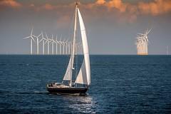 Windpower (matthiasstiefel) Tags: boat energy ijsselsea ijsselmeer sailing wind windkraft windpower
