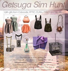 FREE Sim Hunt - from Caboodle, MALO, ATTIC, CLAVv, and Pewpew! (Twerk Caboodle) Tags: free second life group gift