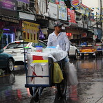 Drink Vendor on a Rainy Day in Bangkok thumbnail