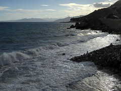 Varigotti a settembre (fotomie2009 OFF) Tags: varigotti liguria italy italia riviera ligure ponente sea mare coast costa waves onde