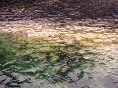 Basalt columns, Isle of Staffa (lesleyw8) Tags: scotland basalt columns staffa sea
