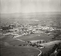 Bega - 17 Nov 1937 (Royal Australian Historical Society) Tags: rahs royalaustralianhistoricalsociety bega landscape adastraaerialsurveycollection aerialphotography 1937