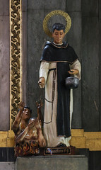 St Juan Macias OP (Lawrence OP) Tags: santodomingo church priory dominican quezoncity manila statue purgatory suffrage prayers mercy laybrother friar charity
