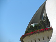 The balcony (vittorio vida) Tags: balcony valencia spain buildings architecture travel art science flowers dome